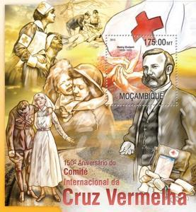 Mosambik 2013 Červený kříž, 150. výročí Mi# Block 784 Kat 10€ 2280