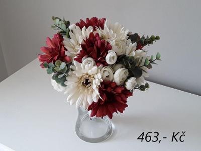 Květinová dekorace - gerbery