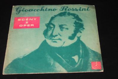 LP - Gioacchino Rossini - Scény z Oper   (d24)