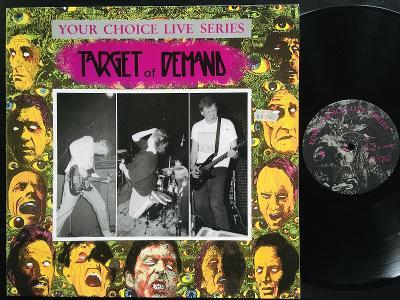 Target Of Demand – Your Choice Live Series EX 1990 PUNK/HC
