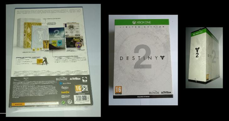 XBOX ONE - DESTINY 2 - limitovaná edice - BOX - NEROZBALENO - Hry