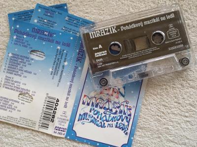 Audio Kazeta Mrazík Pohádkový Muzikál na Ledě 1998 Popron