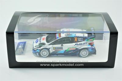 1:43 Spark Ford Fiesta WRC Rallye Monte Carlo 2020 E. Lappi (rally)
