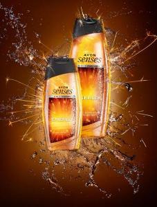 Sprchový gel na tělo a vlasy Energy