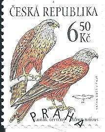 Ochr. přír.-draví ptáci 2003, raž. zn. smytá s raz. FDC, NL. k.č. 372.