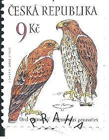 Ochr. přír.-draví ptáci 2003, raž. zn. smytá s raz. FDC, NL. k.č. 374.
