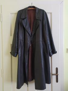 Retro kožený kabát na motorku 50-60. léta