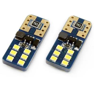 LED žárovka T10 W5W 12x 2016SMD