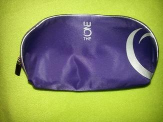 Kosmetická taštička The ONE 27439 / fialová