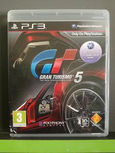 Gran Turismo 5 (PS3) - kompletní, jako nová