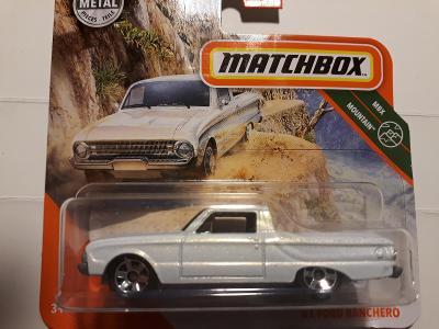 MATCHBOX MBX MOUNTAIN 75/100 FORD RANCHERO 1961
