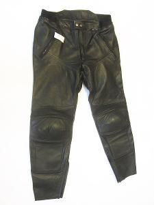 Kožené kalhoty MQP- VEL. 4XL/60, pas: 100 cm
