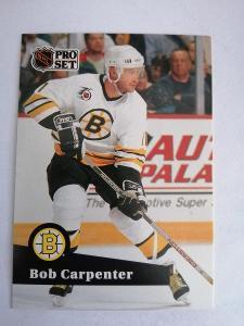Bob Carpenter #349 Boston Bruins 1991/1992 Pro Set