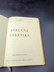 Kniha - Stručná asketika 1978/196 str...(12968)
