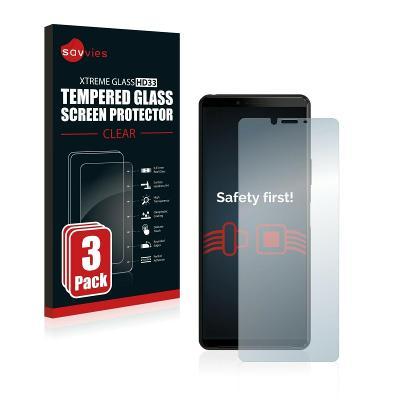 3x Ochranné tvrzené sklo -  Sony Xperia 10 II