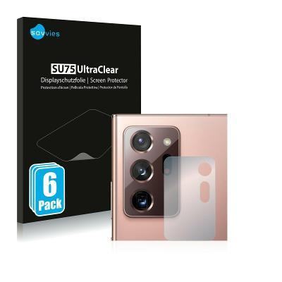 6x Ochranná fólie - Samsung Galaxy Note 20 Ultra / 5G (Kamera)