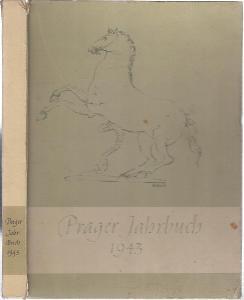 Prager Jahrbuch 1943 - podpis Hans Blaschek