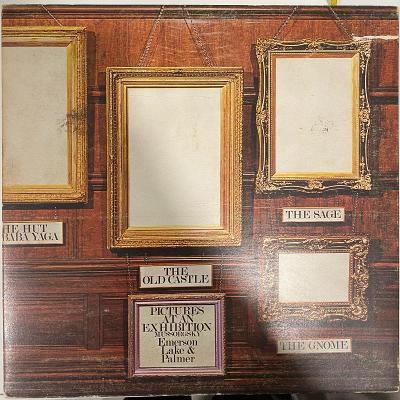 Emerson, Lake & Palmer – Pictures At An Exhibition - LP vinyl