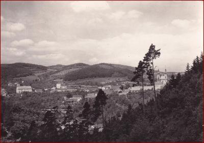 Lomnice u Tišnova * celkový pohled na město * Brno venkov * V234
