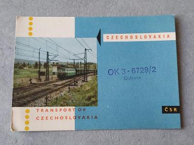 Pohled Starý pohled Pohlednice Sbírka Vlak Lokomotiva Železnice