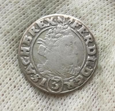 Ferdinand II. 3 Krejcar 1631 HR
