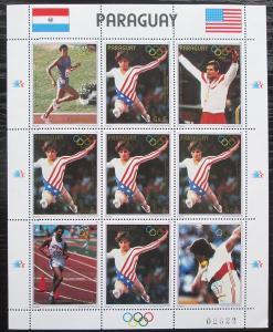 Paraguay 1985 LOH Los Angeles Mi# 3830 Bogen Kat 24€ 2292