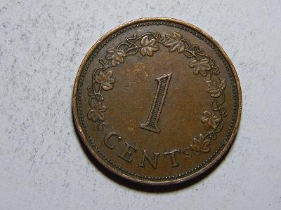 Malta 1 Cent 1972 XF č31297