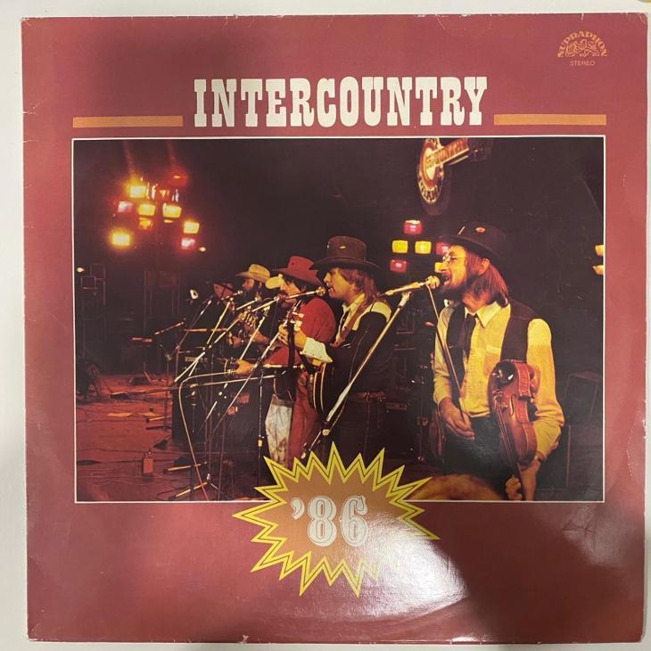 Various – Intercountry '86 - LP vinyl - Hudba