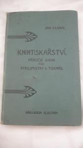 Jan Dlabal-Knihařství-o barvách-papíru a stereotypii z r. 1907-