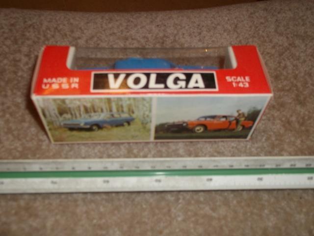 VOLGA VOLHA GAZ 24 1/43 KOVOVA MODEL ORIGINAL SSSR - Modelářství