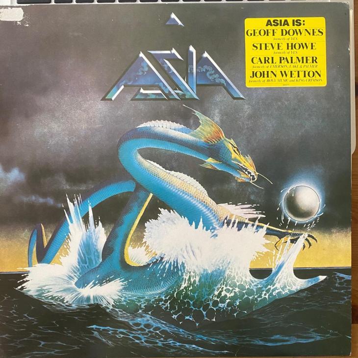 Asia – Alpha - LP vinyl - Hudba