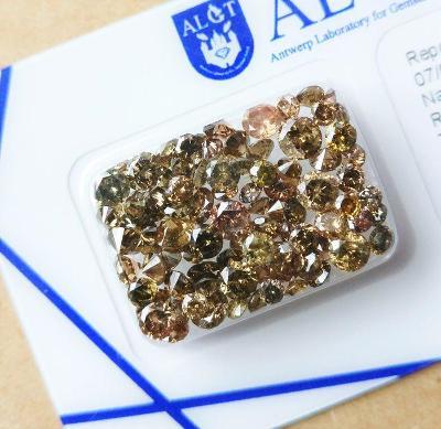 Diamanty 95 ks 7.53ct