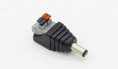 Napájecí konektor pro LED pásky samec 2,1 x 5,5 mm