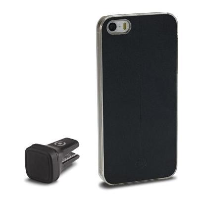Držák do mřížky + magnetický kryt Smart Drive pro pro iPhone SE/5S/5