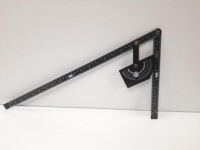 Velký půlmetrový kovový úhelník s úhloměrem, nový, POSLEDNÍ !
