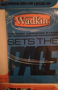 Rozkládací leták značky Wadkin