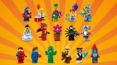 Originální LEGO 71021 - 17 kompletních panáčků včetně policisty