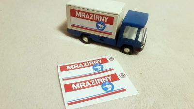 Samolepky na náklaďák IGRA MRAZÍRNY ( NE KDN, ITES)