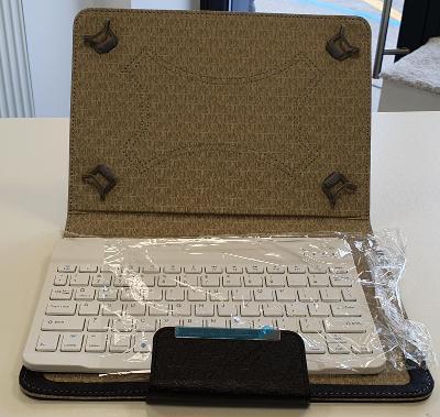 """# Pouzdro s klávesnicí pro tablet 9 - 10"""" Black -nové NEPOUŽITÉ - D038"""