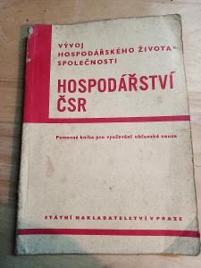 Kniha pro výuku hospodářství 1950