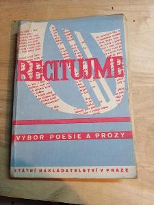 Staré básně a prózy pro 2. stupeň školy-1946