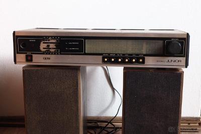 rádio TESLA JUNIOR