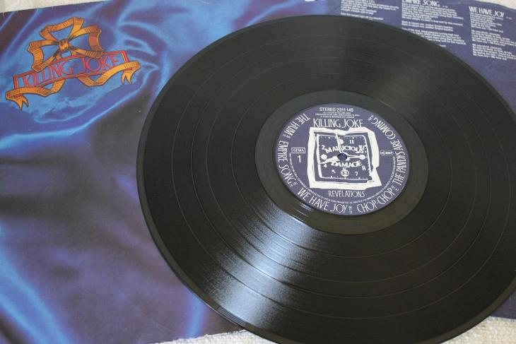 Killing Joke – Revelations LP 1982 vinyl Germany 1.press super stav - Hudba
