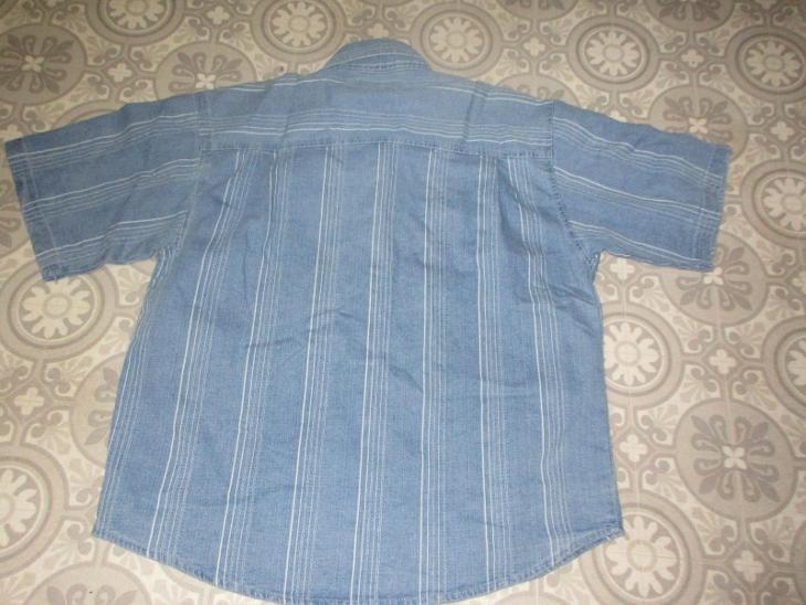 košile  modrá pěkná  pánská - Pánské oblečení