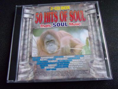 4 CD - Hits of soul, regge blues - (skoro jako nové)