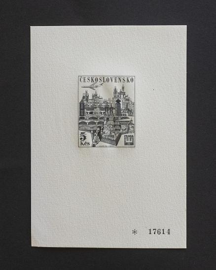 ČESKOSLOVENSKO - PT3 - Filatelie