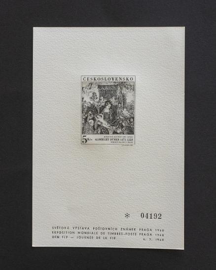 ČESKOSLOVENSKO - PT4 - Filatelie