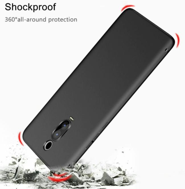 Černý silikonový obal Xiaomi Mi 9T - Obaly, pouzdra, kapsy