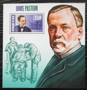 Niger 2013 Louis Pasteur, biolog Mi# Block 207 Kat 10€ 2300