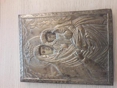 Pravoslavná ikona - Panna Maria s Ježíškem